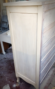 Distressing with Stain