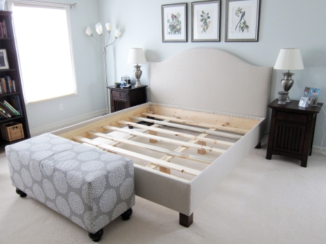 DIY Pottery Barn Bed Angle 1