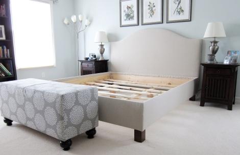 DIY Pottery Barn Bed Angle 2