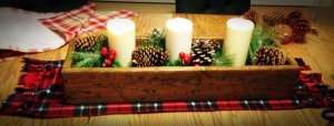 Fleece Table runner_1