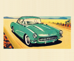 Corvette 8x10
