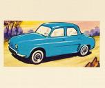 Renault Dauphine 8x10