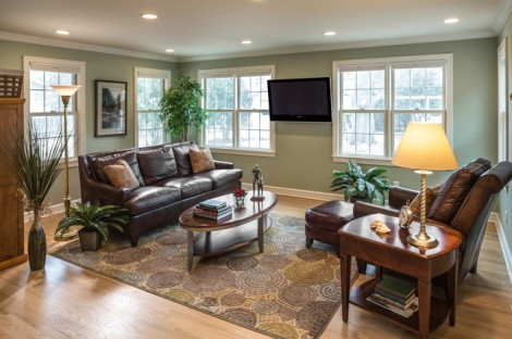 Sherwin Williams Softened Green