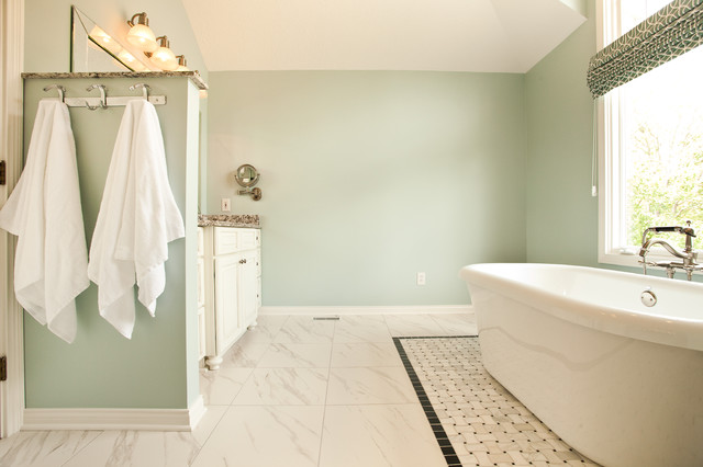 Sherwin Williams Rainwashed Bathroom on sherwin williams comfort gray bathroom, beadboard bathroom, sherwin-williams oyster bay bathroom, sherwin-williams waterscape bathroom,