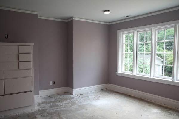 The 1 rule of thumb for picking the right paint color for for Mauve kitchen walls