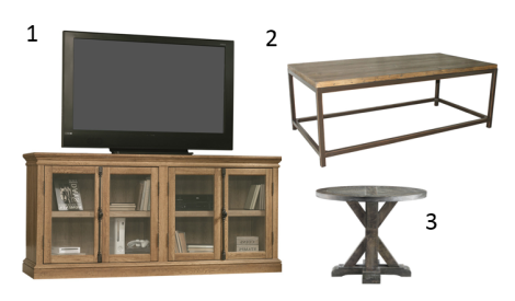 Rustic Furniture Grouping
