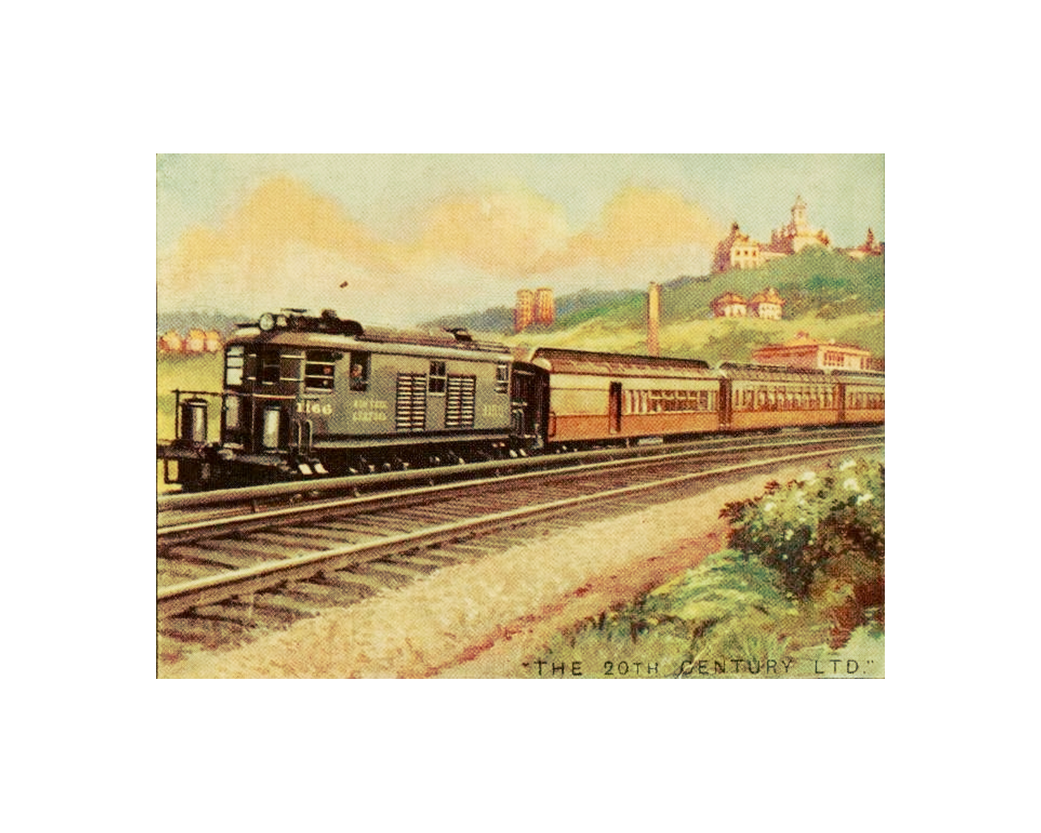 Free Printable Vintage Train Art Simply Made By Rebecca