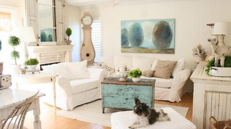 Distressed Living Room Furniture