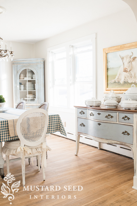 Great Miss Mustard Seed Dining Room With Miss Mustard Seed Farmhouse White