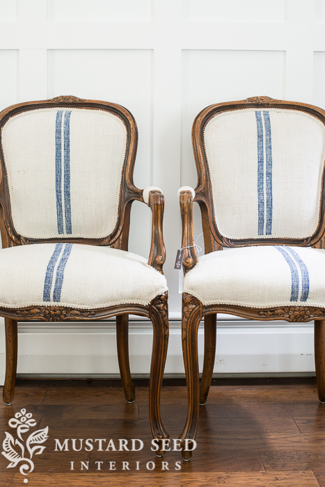 miss mustard seed reupholstered chairs